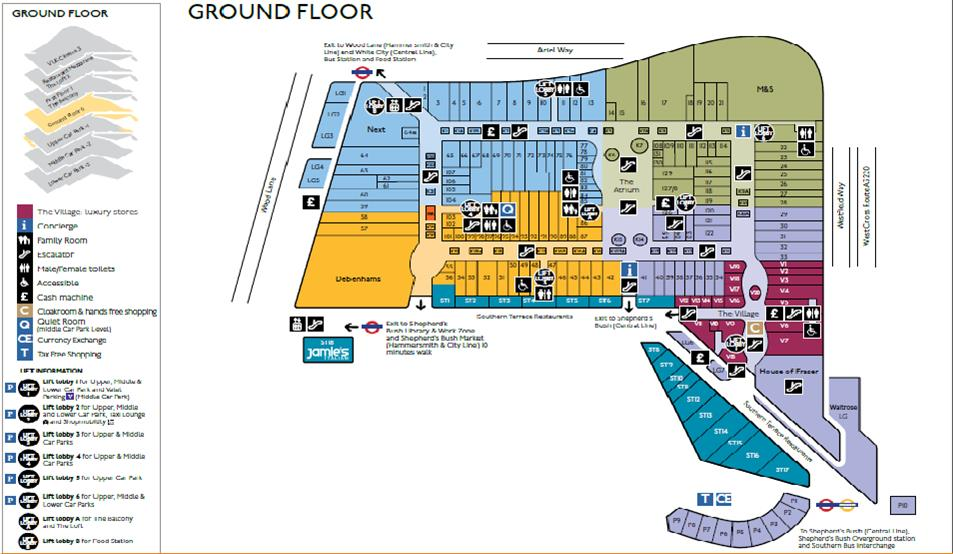 Final map visualization for Interactive floor plan map